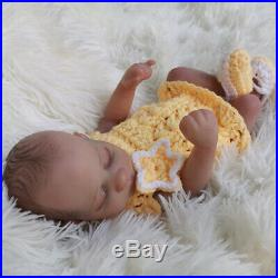 10inch Full Body Silicone Vinyl Reborn Baby Dolls Waterproof Bath Mini Gift Toy