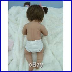 16 Handmade FULL BODY SILICONE Realistic Reborn Baby Girl Doll Lifelike Baby