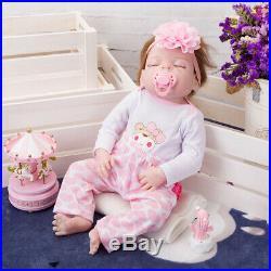 17'' Real Lifelike Journey Reborn Baby Lifelike Soft Vinyl Doll, Children Gift