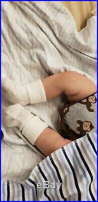 18.5 inch SUPER Realistic Reborn Baby Boy Doll Soft Vinyl