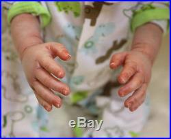 20Handmade Lifelike Reborn Baby Doll girl boy Newborn baby Soft Silicone Vinyl