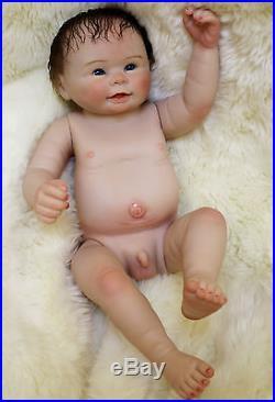 dfbca3d9c1ec 20 Handmade Reborn Baby Dolls boy Newborn Lifelike Full Body ...