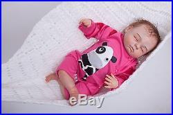 20 Handmade very Lifelike GIRL Reborn Doll Baby Doll Soft Vinyl silicone