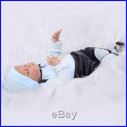 20 Lifelike SOFT SOLID silicone Reborn Girl Baby Realistic Newborn Baby Doll