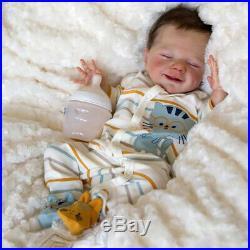 20'' Little David Reborn Baby Doll Boy, Handmade Realistic Baby Doll for Girls