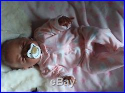 20 Realistic Handmade Reborn Baby Doll Girl Newborn Lifelike Vinyl Silicone