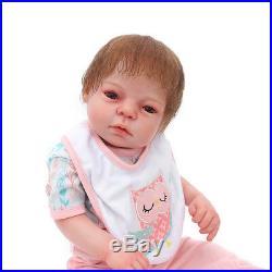 20'' Realistic Reborn Boy Dolls Handmade Newborn Soft Vinyl Baby Doll Toy