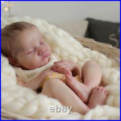 20'' Sleeping Full Vinyl Silicone Reborn Realistic Baby Soft Vinyl Body Doll US