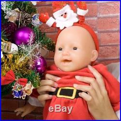 20inch/4kg IVITA Silicon Lifelike Cute Reborn Vinyl Baby Girl Doll Full Body New