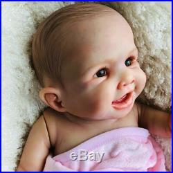20inch Full Body Waterproof Real Soft Silicone Reborn Baby Doll Newborn Girl Toy