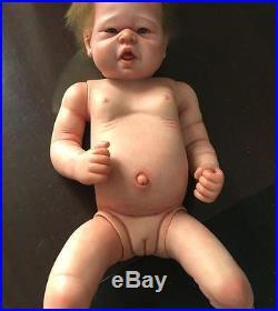 21'' Real Lifelike Reborn Baby Girl Dolls Full Body Silicone Vinyl Newborn Dolls