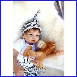 21'' Toddler Realistic Handmade Reborn Dolls Newborn Lifelike Baby Boy Doll Gift