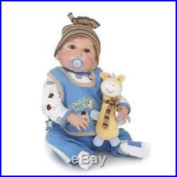22 Full Body Silicone Vinyl Reborn Doll Lifelike Anatomically Correct Baby Boy