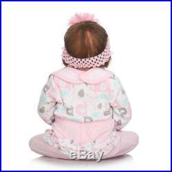 22 Full Body Silicone Vinyl Reborn Doll Lifelike Anatomically Correct Baby Girl