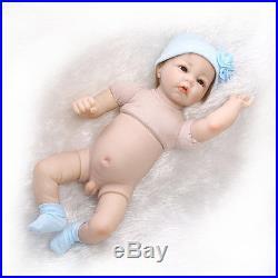 22 Handmade Lifelike Baby Boy Doll Silicone Vinyl Reborn Newborn Dolls Clothes