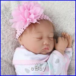 22 Handmade Vinyl Silicone Reborn Baby Dolls Realistic Newborn Girl Xmas Gift