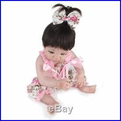 22 Lifelike Reborn Baby Doll Handmade Silicone Full Body Vinyl Newborn Dolls