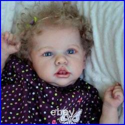 22 Real Life Reborn Baby Dolls Full Body Vinyl Silicone Newborn Doll Girl Gift