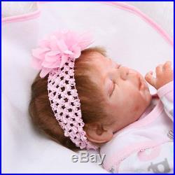 22 Realistic Handmade Reborn Baby Doll Girl Newborn Lifelike Vinyl Silicone
