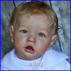 22 Reborn Baby Doll Boy Jeremy Edition Realistic Newborn Doll Silicone Vinyl