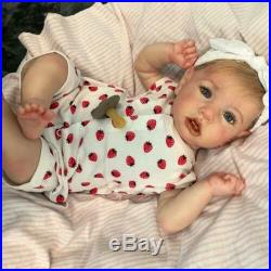 22 Reborn Doll Cutest Mia Reborn Baby Girl Handmade Vinyl Silicone Girl Doll