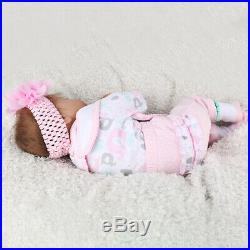 22'Twins Girl+Boy 2pcs Reborn Baby Dolls Newborn Vinyl Silicone Xmas Gift Doll
