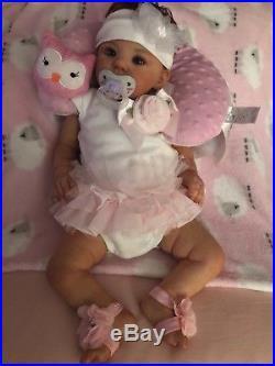 22 handmade reborn baby girl doll