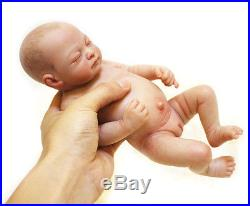 26cm/10 Full Silicone Vinyl body Newbron life like Reborn Baby Girl Doll