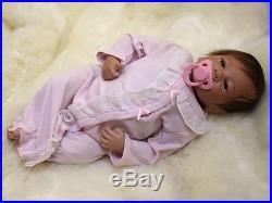 49cm/20 Handmade Lifelike Newborn Reborn Baby Soft Vinyl silicone doll/ YDK-2