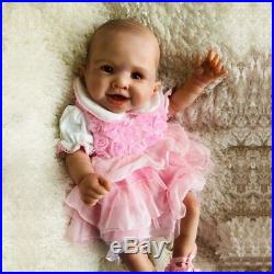 50cm Full Body Waterproof Silicone Vinyl Reborn Baby Doll Newborn Girl Xmas Gift