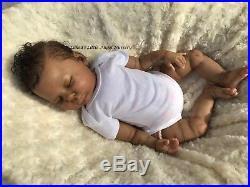 AA Ethnic Biracial Reborn Baby Doll Gemma By Donna Rubert