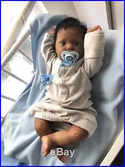 AA Ethnic Reborn Baby, Reborn Baby Boy, OOAK Reborn Doll, Reborn Dolls