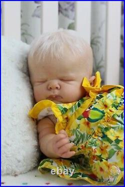 AMAZING REBORN NINO DWARF BABY ARTFUL BABIES est 2003 BABY GIRL DOLL IIORA