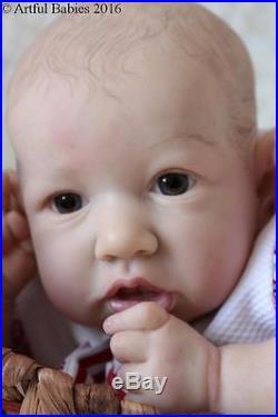 Amazing Reborn Saskia Brown Artful Babies Baby Girl Doll Iiora
