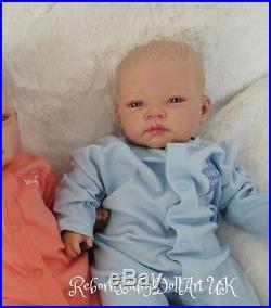 AWAKE Reborn Baby BOY Doll #RebornBabyDollART UK