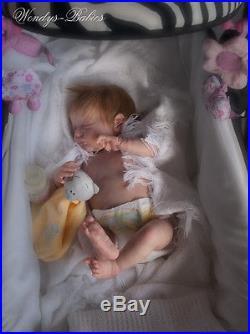 Awendys Babies A Beautiful Lifelike Reborn / Newborn Baby Girl Doll