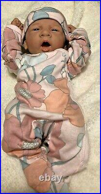 AWW! It's Baby GIRL! Berenger Life Like Reborn Preemie Pacifier Doll +Extras