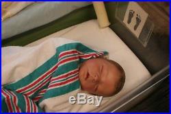 A Groovy Doll, Baby! Reborn Baby Boyrealborn Darrenpainted Hairrealistic