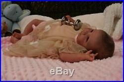 A Groovy Doll, Baby! Reborn Baby Girlgabi Eckertova Biracial Beauty