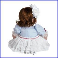 Adora Reborn Toddler Girl Doll Realistic & Lifelike 20 inch Doll Paris Poodle