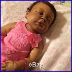 African American Reborn Baby Doll Full Body Cameron Vinyl