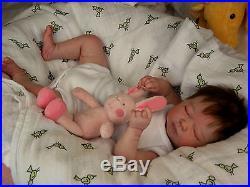 (Alexandra's Babies) REALBORN (R) REBORN BABY GIRL DOLL SUMMER RAIN ASLEEP