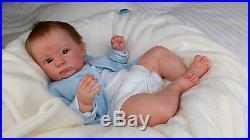 (Alexandra's Babies) REBORN BABY BOY DOLL CONNOLLY ANDREA ARCELLO LTD ED