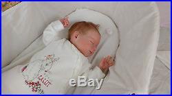 (Alexandra's Babies) REBORN BABY GIRL DOLL AMELIA JOANNA KAZMIERCZAK LTD ED