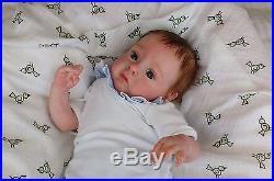 (Alexandra's Babies) REBORN BABY GIRL DOLL CHLOE by NATALI BLICK LTD ED