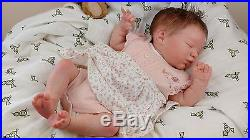 (Alexandra's Babies) REBORN BABY GIRL DOLL EVANGELINE LAURA LEE EAGLES Ltd ed