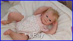 (Alexandra's Babies) REBORN BABY GIRL DOLL GRETA by ANDREA ARCELLO LIMITED ED
