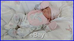 (Alexandra's Babies) REBORN BABY GIRL DOLL KAMI ROSE LAURA LEE EAGLES LTD ED