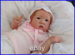 (Alexandra's Babies) REBORN BABY GIRL DOLL SASKIA by BONNIE BROWN