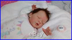 (Alexandra's Babies) REBORN BABY GIRL DOLL YANNIE by GUDRUN LEGLER